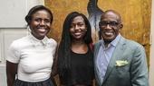 Hamilton - Opening - 8/15 - Deborah Roberts, daughter Leila  and Al Roker