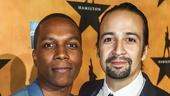 Hamilton - Opening - 8/15 - Leslie Odom Jr. and Lin-Manuel Miranda