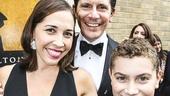 Hamilton - Opening - 8/15 - Andrea Burns, Peter Flynn  - son - Hudson
