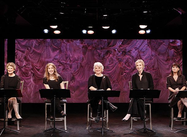 Love, Loss and What I Wore - Show Photos - Mary Louise Wilson - Lisa Joyce - Tyne Daly - Jane Lynch - Mary Birdsong  (straight aheaed)