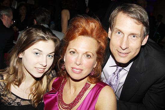 The Addams Family opening – Carolee Carmello – Gregg Edelman – daughter Zoe