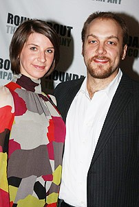 Sunday in the Park Opening - Alexander Gemignani  - wife Erin Ortman