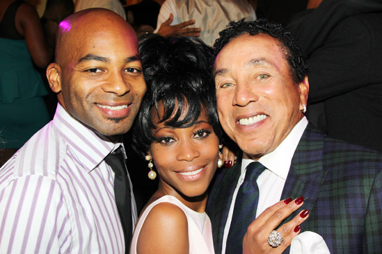 Motown Preview — Brandon Victor Dixon — Valisia LeKae — Smokey Robinson