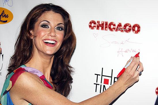 Samantha Harris Debut in Chicago - Samantha Harris (signing)