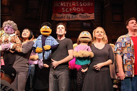 Avenue Q Final Broadway – curtain call – full cast