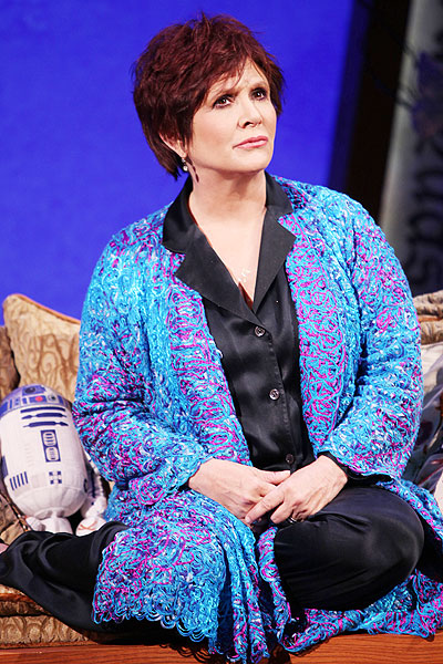 Wishful Drinking - Show Photos - Carrie Fisher (full portrait)