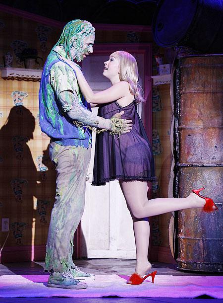 The Toxic Avenger - Show Photos - Nick Cordero - Diana DeGarmo (toxic)
