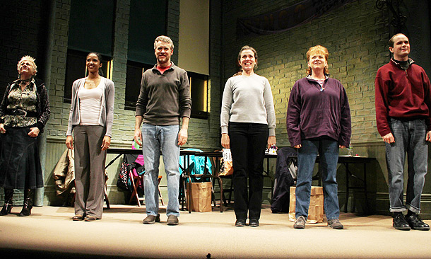 Good People Opening Night – curtain call