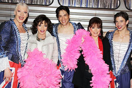 Priscilla Collins - Tony Sheldon - Joan Collins - Will Swenson - Jackie Collins - Nick Adams