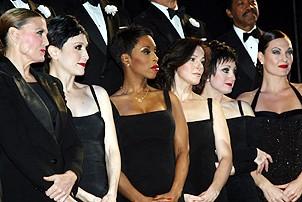 Photo Op - Chicago 10th Anniversary - cc - Ann Reinking - Bebe Neuwirth - Brenda Braxton - Ruthie Henshall - Caroline O'Connor - Terra C. MacLeod