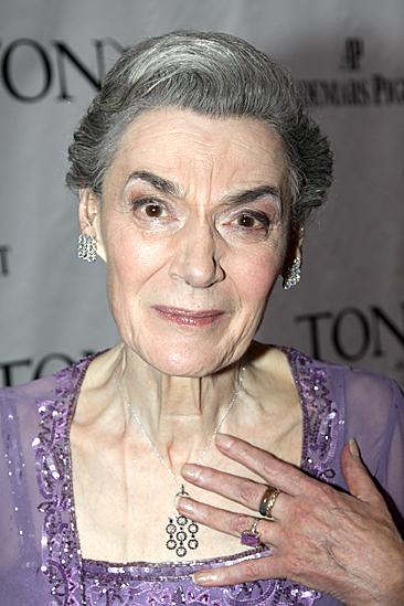 2010 Tony Awards Red Carpet – Marian Seldes