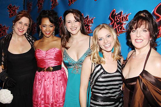 Sister Act Opening Night –  Wendy James – Corbin Reid – Carrie A. Johnson – Natalie Bradshaw – Madeline Doherty