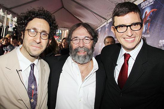 Glen Berger and - Michael Cohl -Roberto Aguirre-Sacasa