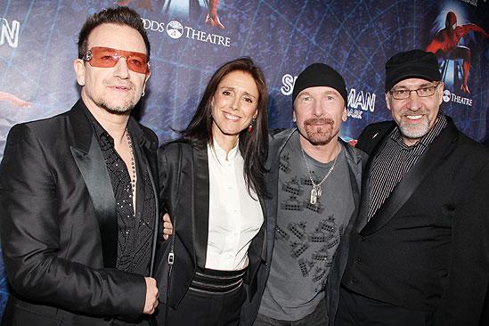 Spider-man opening – Bono – Julie Taymor – The Edge – Phillip William McKinley