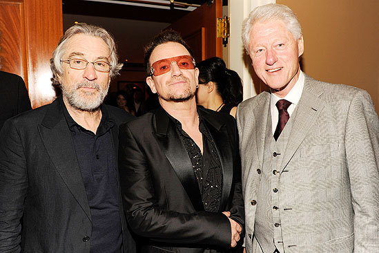 Spider-Man opening – Robert De Niro – Bono – Bill Clinton