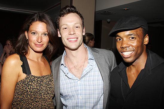 Hair Opening Night 2011 – Jackie Burns – Ryan Watkinson – Tommar Wilson