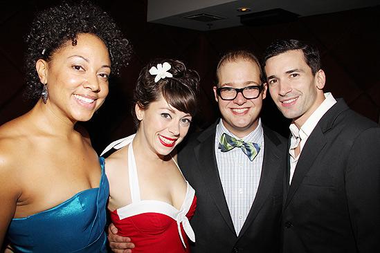 Hair Opening Night 2011 – Shaleah Adkisson – Allison Guinn – Josh Lamon – Paris Remillard