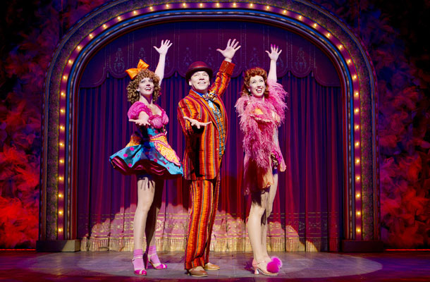 Show Photos - Follies - Jenifer Foote - Danny Burstein - Kiira Schmidt