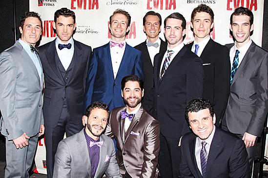 Evita – Opening – The Men of <i>Evita</i>