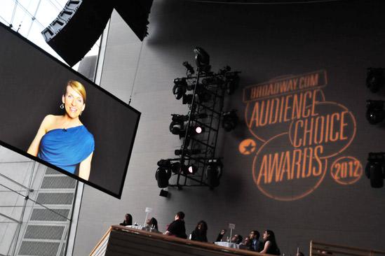2012 Audience Choice Awards – Ceremony Photos – Susan Blackwell