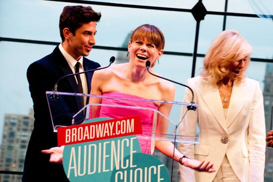 2012 Audience Choice Awards – Ceremony Photos – Nick Adams – Celia Keenan-Bolger – Judith Light