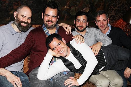 Peter and the Starcatcher Book Party – Matt D'Amico – Greg Hildreth – Teddy Bergman – Arnie Burton – Ken Cerniglia