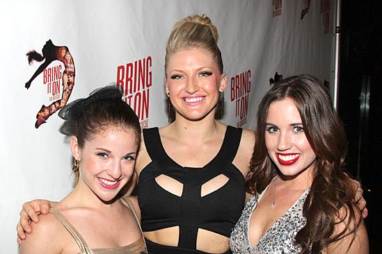 Bring It On Opening Night – Danielle Carlacci - Brooklyn Alexis Freitag - Nikki Bohne