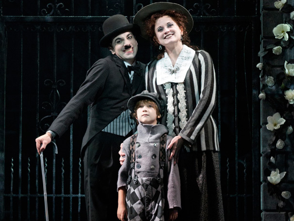 Show Photos - Chaplin - Rob McClure - Zachary Unger - Christiane Noll