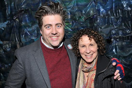 Danny DeVito and Rhea Perlman at Peter and the Starcatcher – Eric Petersen – Rhea Perlman