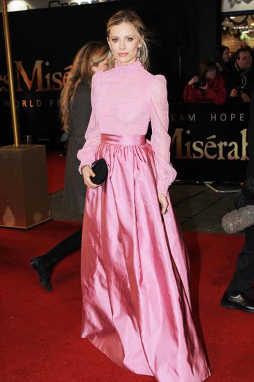 Les Miserables London premiere – Emilia Fox