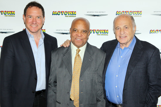 'Motown' Meet and Greet — Kevin McCollum — Berry Gordy — Doug Morris