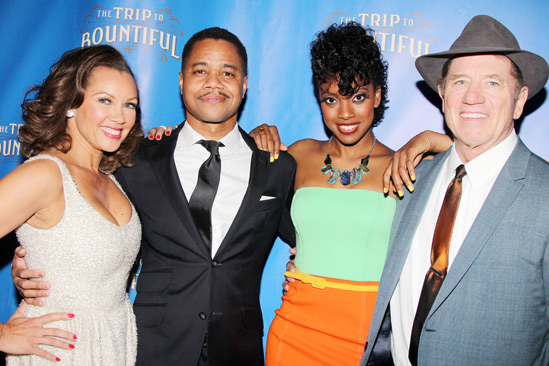 The Trip to Bountiful – Opening Night – Vanessa Williams – Cuba Gooding Jr. – Condola Rashad – Tom Wopat