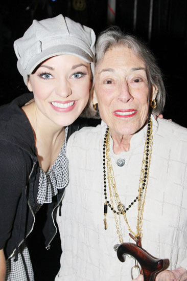 Mary Rodgers at Cinderella – Mary Rodgers – Laura Osnes