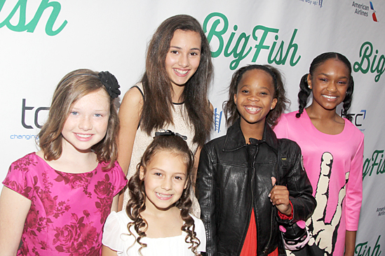 Big Fish – Opening Night – Zoe Margaret Colletti – Nicolette Pierini – Amanda Troya - Quvenzhane Wallis – Eden Duncan Smith