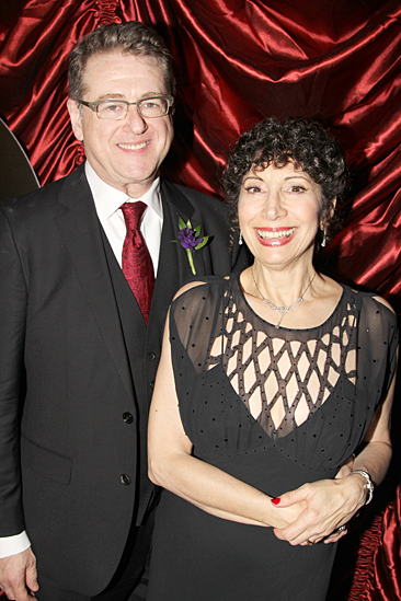 Gentleman's Guide opening night – Robert L Freedman – wife Jean Kauffman