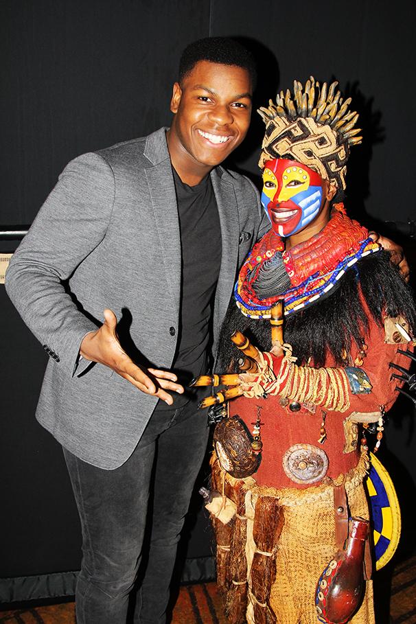 Hot Shots - 12/15 -  - John Boyega and Gugwana Dlaminion