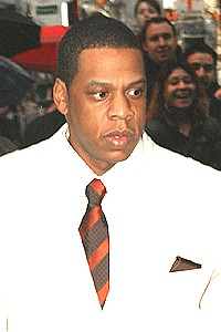 A Raisin in the Sun opening - Jay Z
