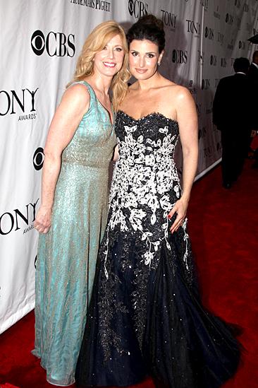 2010 Tony Awards Red Carpet – mom – Idina Menzel
