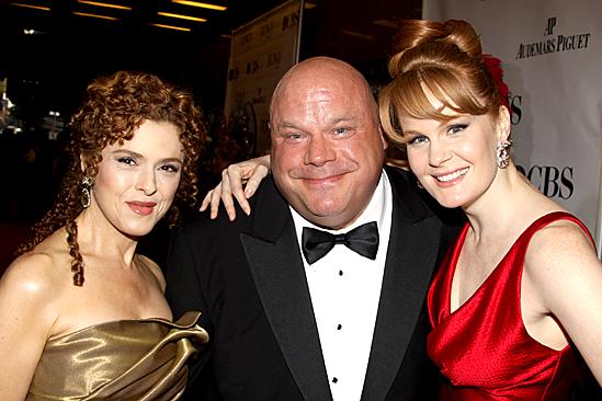 2010 Tony Awards Red Carpet – Bernadette Peters – Chamberlin – Kate Baldwin