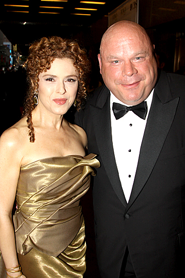 2010 Tony Awards Red Carpet – Bernadette Peters – Kevin Chamberlin