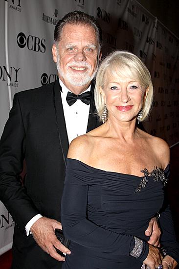 2010 Tony Awards Red Carpet – Helen Mirren – Taylor Hackford