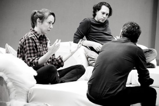 Other Desert Cities Rehearsal – Elizabeth Marvel – Thomas Sadoski – Joe Mantello