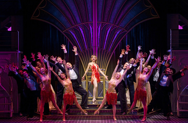 Show Photos - Anything Goes - Sutton Foster - cast