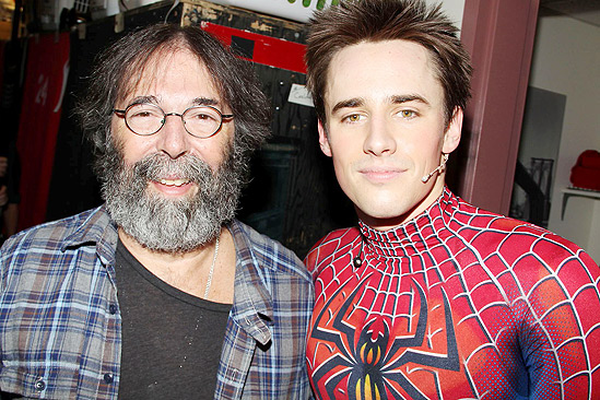 Spiderman final - Michael Cohl - Reeve Carney