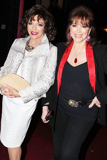 Priscilla Collins - Joan Collins - Jackie Collins
