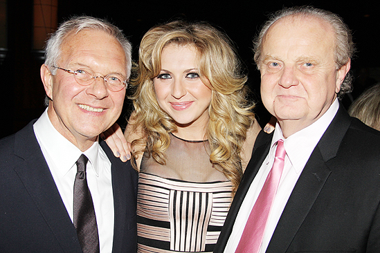 Venus in Fur Broadway Opening Night – Walter Bobbie – Nina Arianda – father
