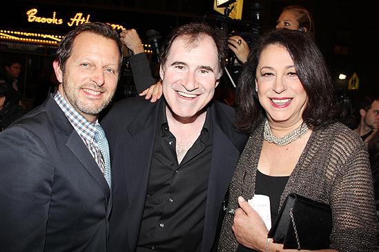 Venus in Fur Broadway Opening Night – Rob Ashford – Richard Kind – Lynne Meadow