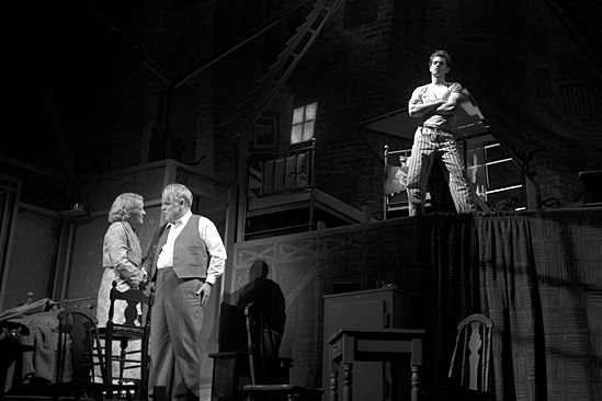 Death of a Salesman- Philip Seymour Hoffman, Linda Emond and Andrew Garfield