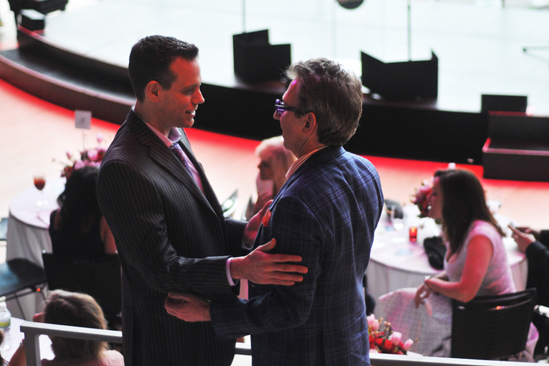 2012 Audience Choice Awards – Ceremony Photos – Adam Pascal - Thomas Schumacher