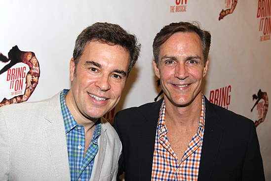 Bring It On Opening Night – Richard Samson - Howard McGillin